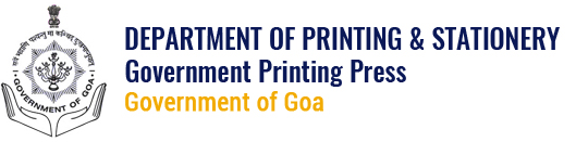 Government Printing Press & Stationery, Govt of Goa, India